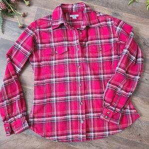 Carhartt • Women's Plaid Flannel Button Down Top